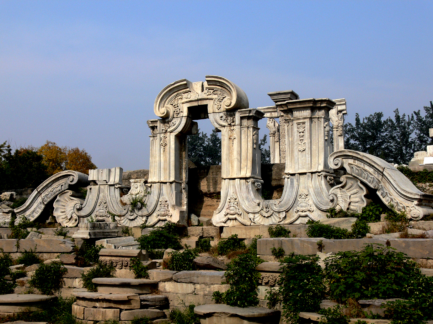 the ruins of old summer palace author tai martin