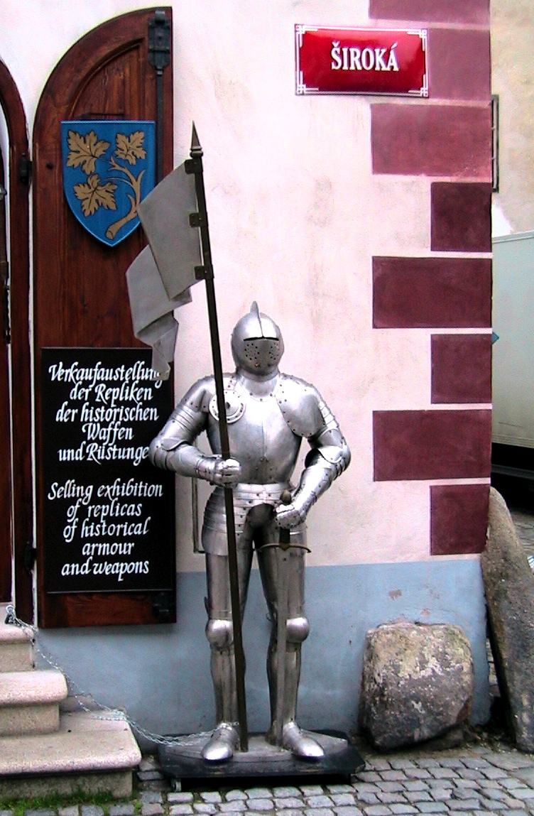 knight in shinning armor cesky krumlov author wom womack john