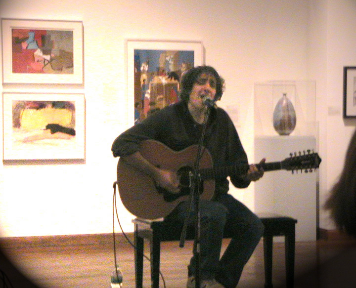 michael gulezian in hickory art museum author wom womack john