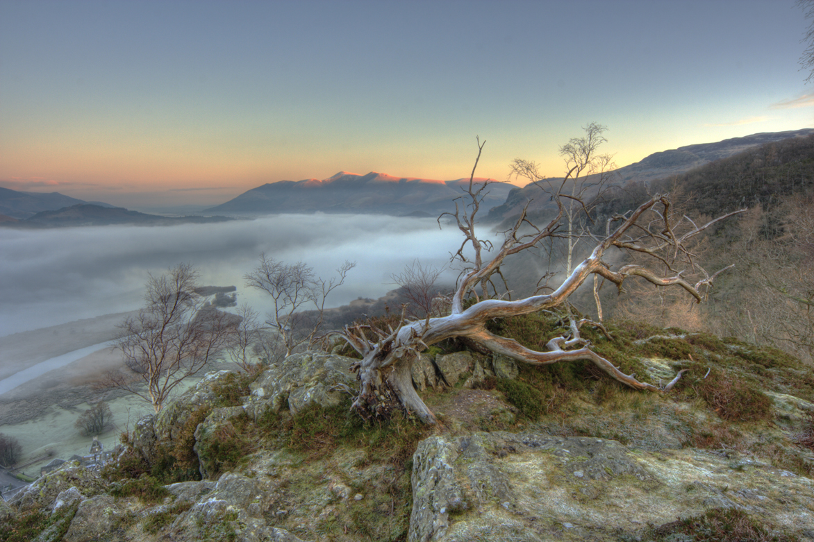 mist on derwent water wide version author gale r richard