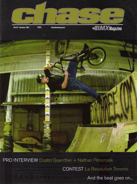 ewan forrest chase bmx magazine cover author ro root josh