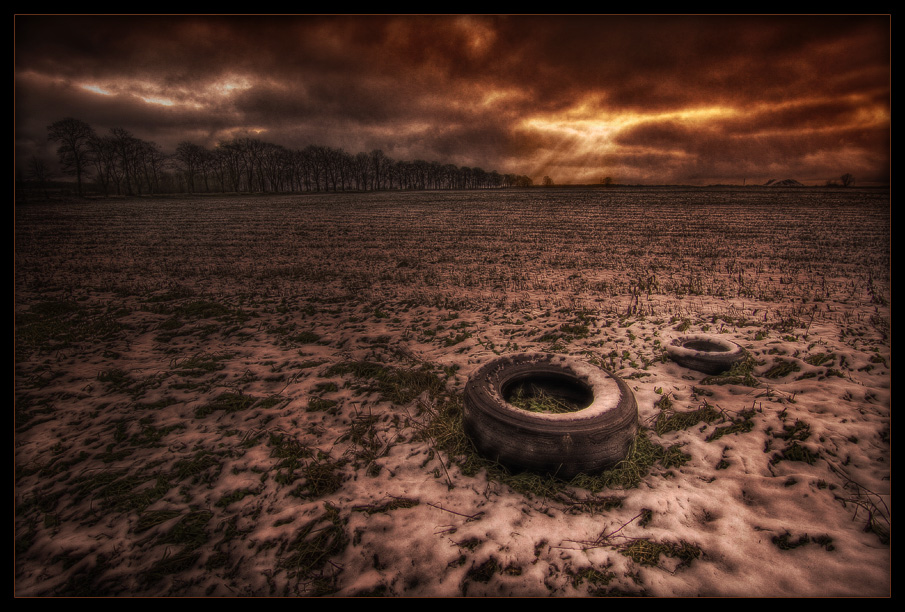 about old tyres author mikhaylov andrey