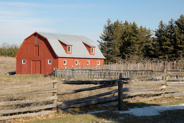 red barn in colour author brooks david