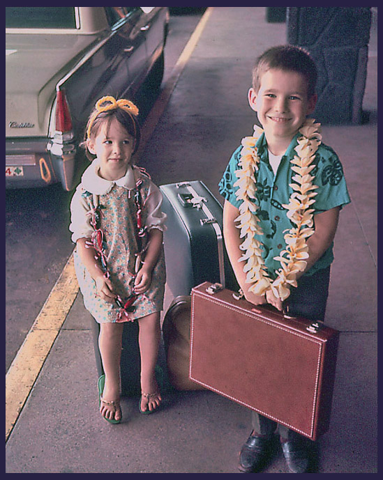 my big brother meeting dad s flight at hnl about siegel honolulu gerry