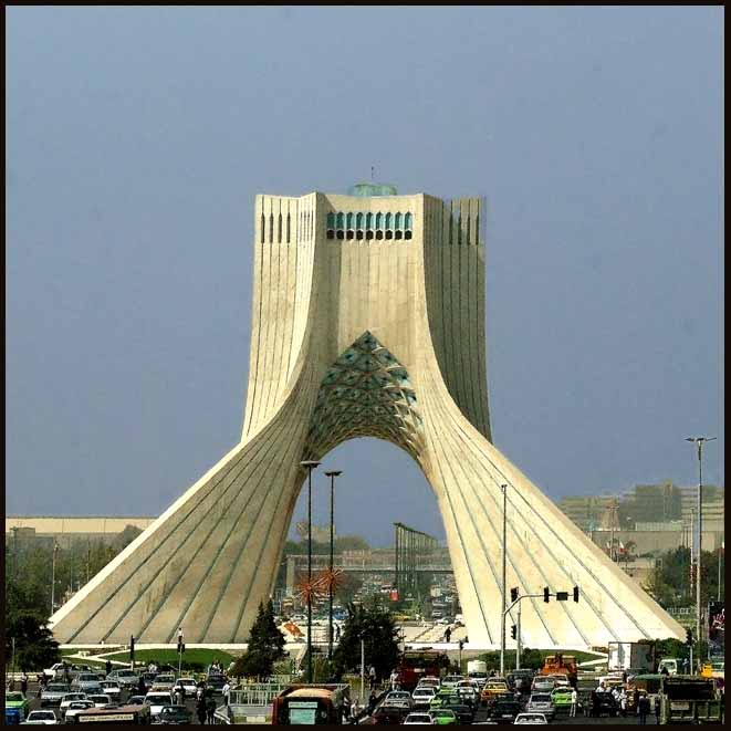 azadi monument tehran author downs jim