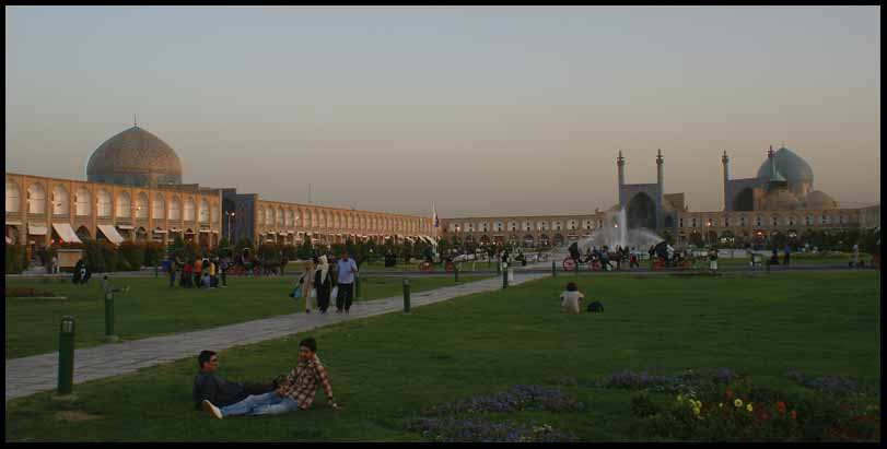 iman square isfahan iran author downs jim
