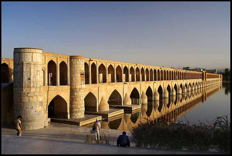 th c khaju bridge isfahan author downs jim