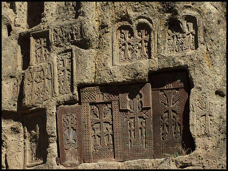 armenian khatchkar crosses author downs jim