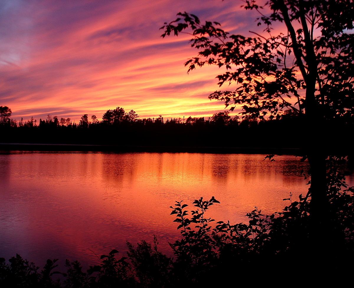 coe lake sunset author pluskwik paul