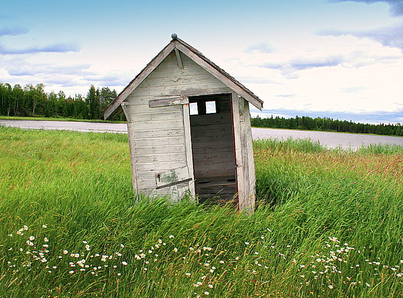 old outhouse has seen its better days author plu pluskwik paul