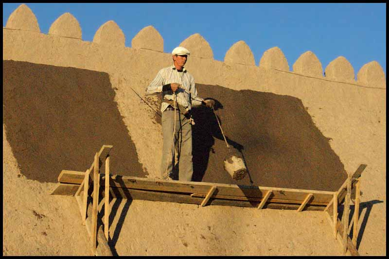 restoration of the walls khiva author downs ji jim