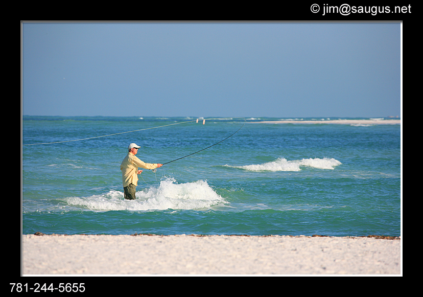 salt water fly fishing casting anna maria island f harrington usa massachusetts j