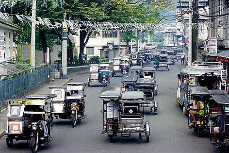 Tricycles in Siniloan, Laguna, Philippines  2000  | Photo net