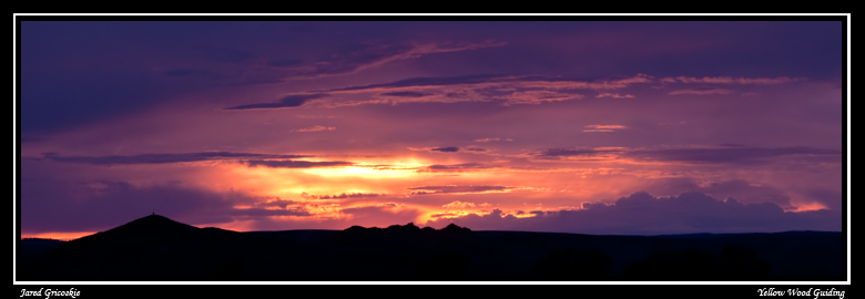 purple ranch sunset author gricoskie jared