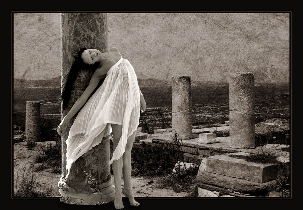 dance in the ruins of delos author funke stephan