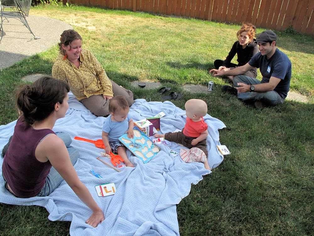 babies on the lawn author root josh
