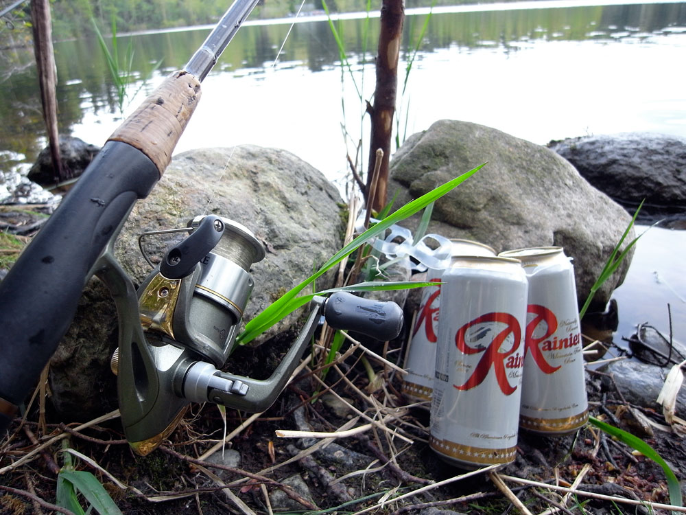 beer and fishing author root josh