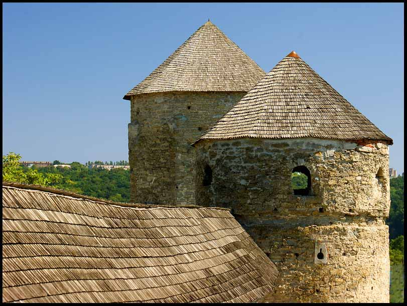 medieval castle at kamyanets podilsky author down downs jim