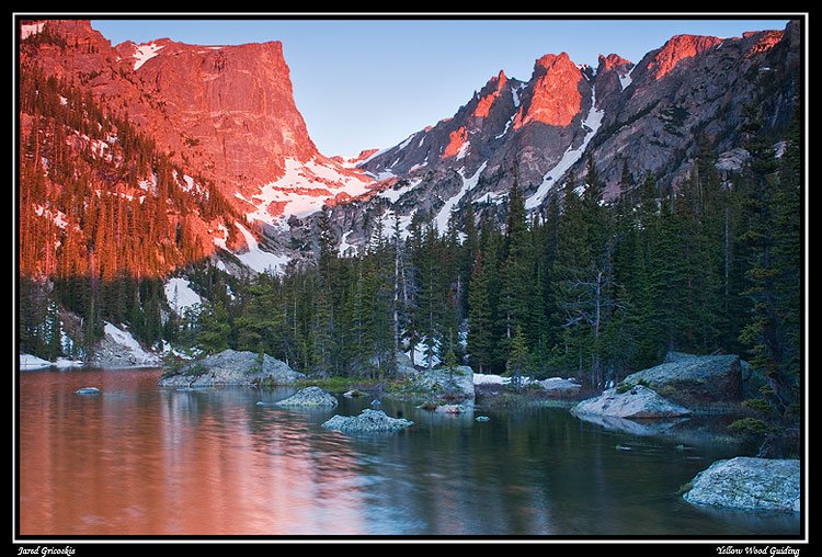 dream lake sunrise author gricoskie jared