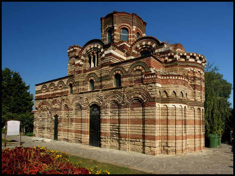 pantrokrator church nessebar bulgaria author down downs jim