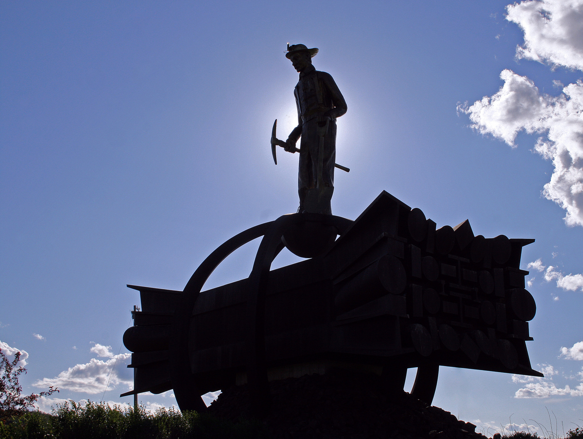 iron man a proud symbol of the ore miners pluskwik paul