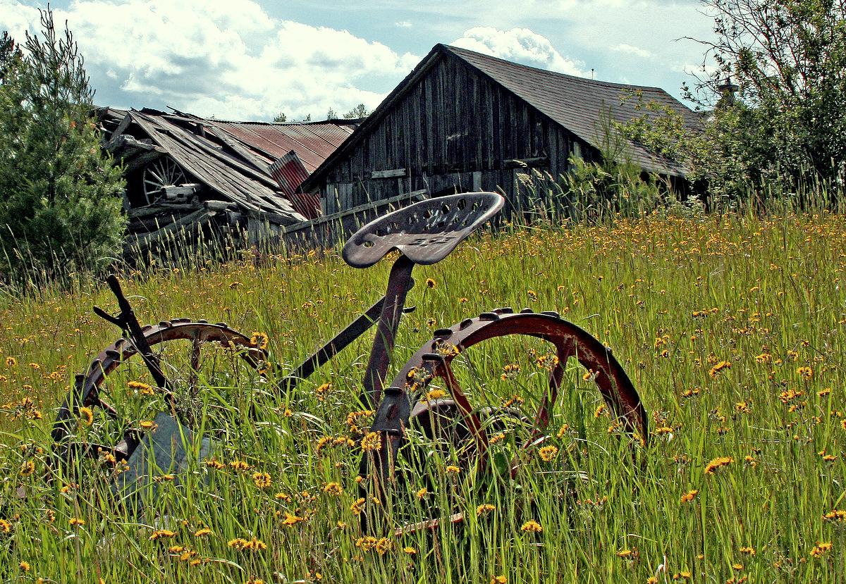 old farm equipment and buildings author pluskwik paul