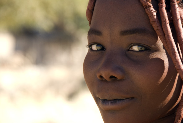 young himba mother author vanourkova jana