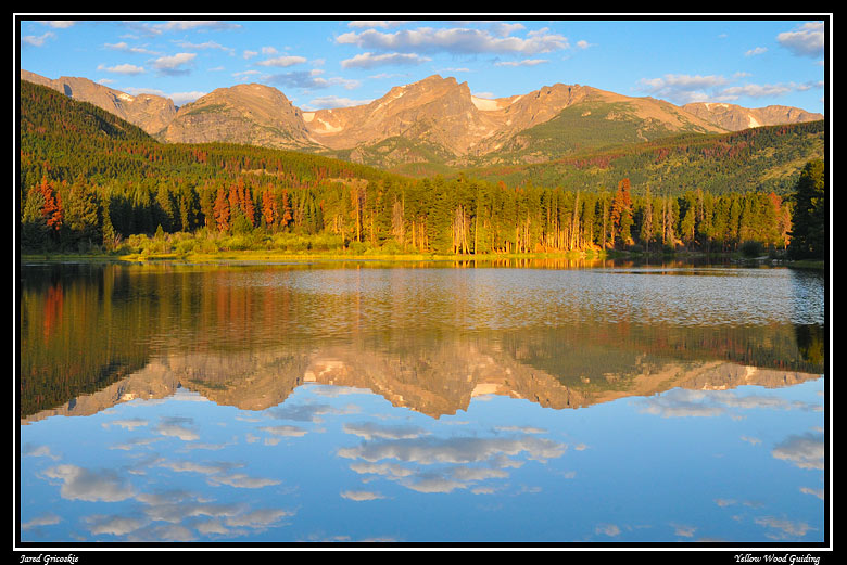 sprague lake sunrise by tally mason author gricos gricoskie jared