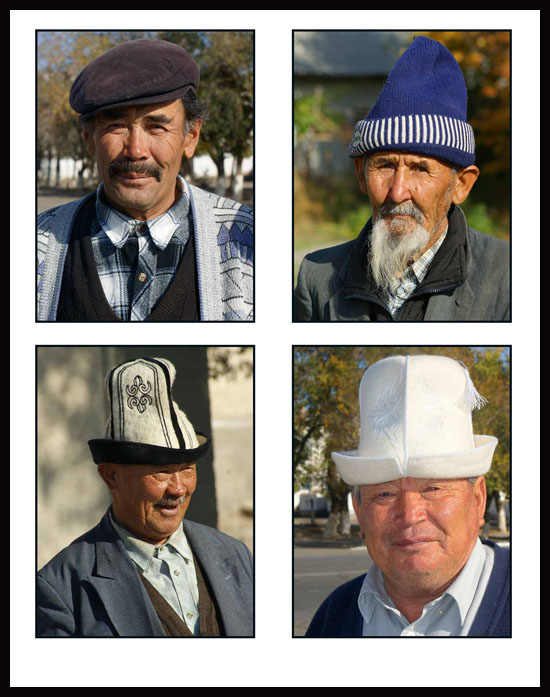 hat fashions among elderly kyrgyzs author downs j jim