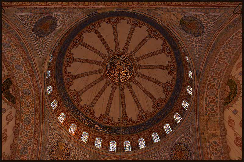 istanbul dome interior larger view for detail au downs jim