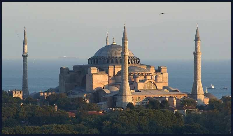 afternoon light on the hagia sophia istanbul aut downs jim