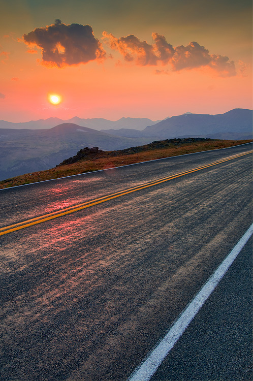 trail ridge road fall sunset hdr author gricosk gricoskie jared