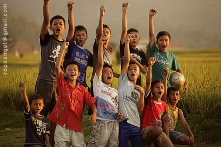 children soccer club in ciwidey west java unite prakarsa rarindra