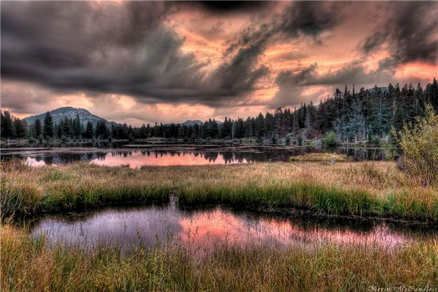 sprague lake hdr sunrise by kevin mccandless auth gricoskie jared