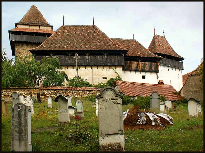 the saxon fortified church at viscri romania auth downs jim