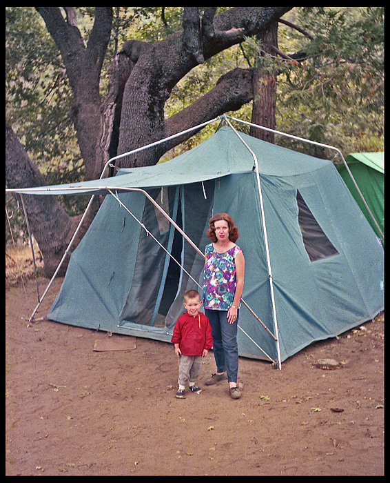camping with sears tent cuyamaca state park san di siegel honolulu gerry