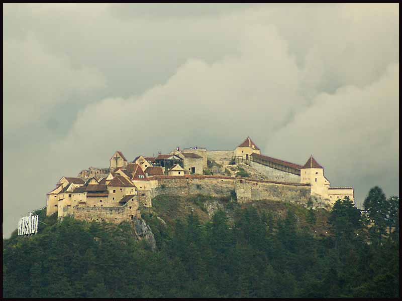 the castle at rasnov romania transylvania on a sto downs jim