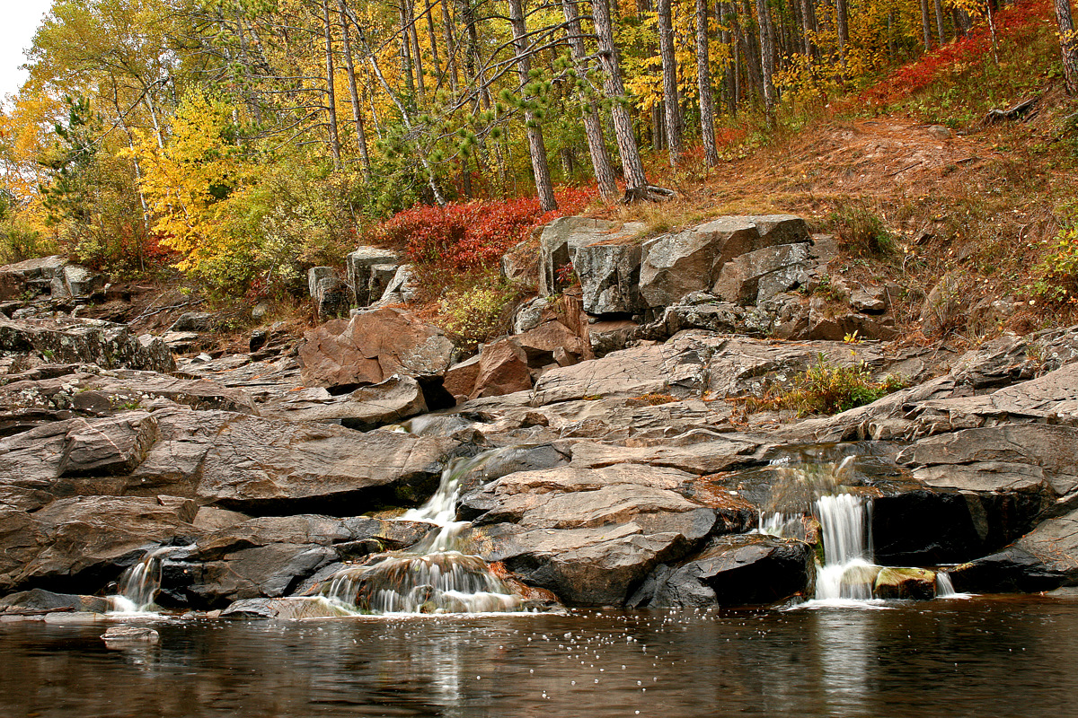 fall view along the stream s edge author pluskwik paul