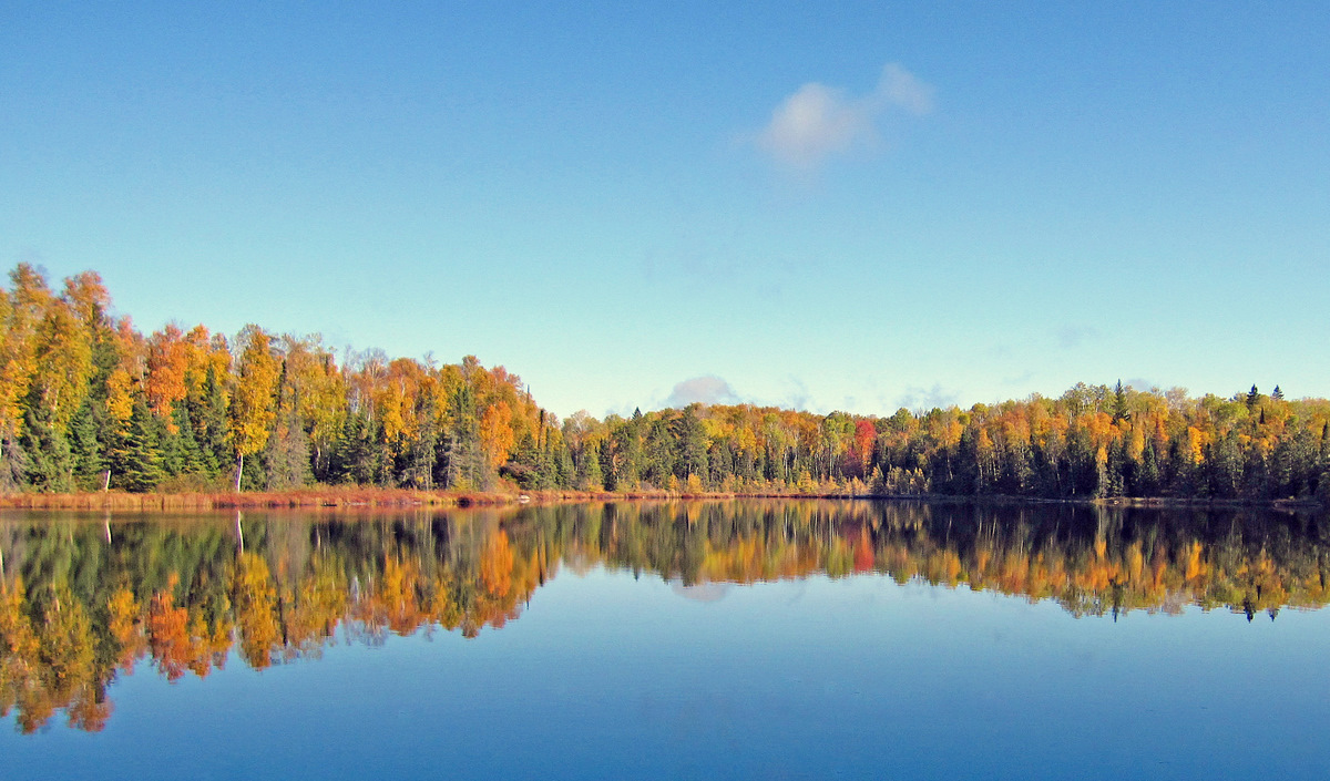 calm morning fall color reflections author pluskw pluskwik paul